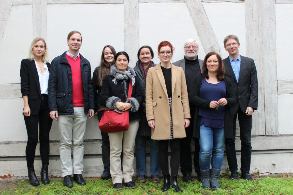 Mitarbeitende der Forschungsstelle Edition Spenerbriefe